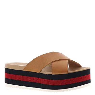 501bfdf3bd1 Steve Madden Women s Asher Sandal  Amazon.co.uk  Shoes   Bags