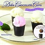 32 Dark Chocolate Dessert Cups Certified Kosher-dairy