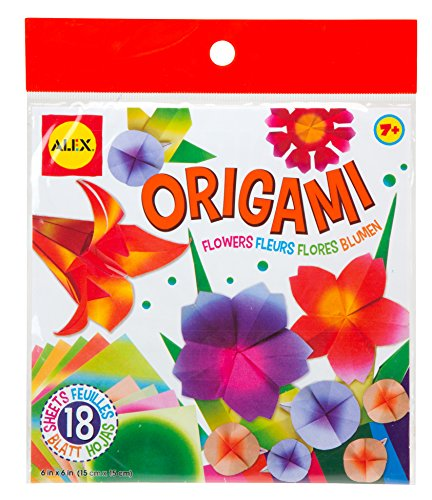 ALEX Toys Craft 6in. x 6in. Origami Paper - Flowers