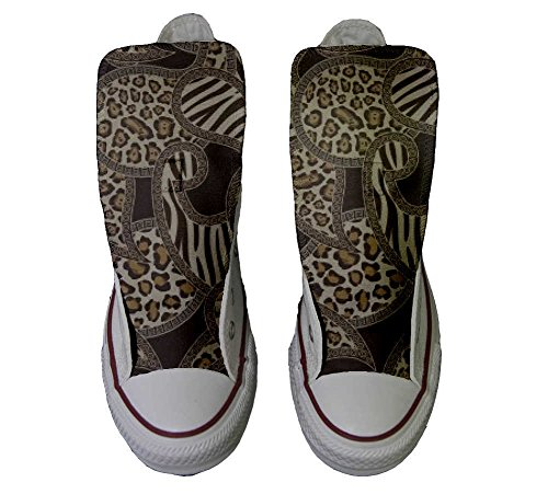 Star personalisierte Customized Jungle Handwerk Hi Converse All Schuhe Schuhe gRqw6P