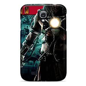For Galaxy S4 Tpu Phone Case Cover(iron Man Movie 2)