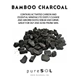 pureSOL Konjac Facial Sponge - Activated Charcoal