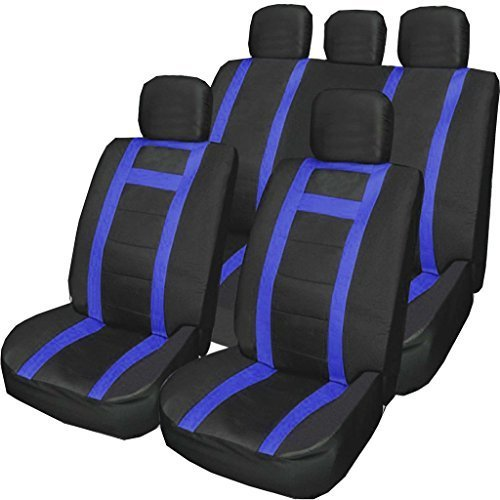 UKB4C Leatherette Full Set Front /& Rear Car Seat Covers for Vauxhall Meriva All Models