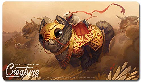 Order of the First Cheese - Star City Games Creature Collection Playmat for MTG Magic the Gathering/Pokemon / Yugioh TCG from Star City Games