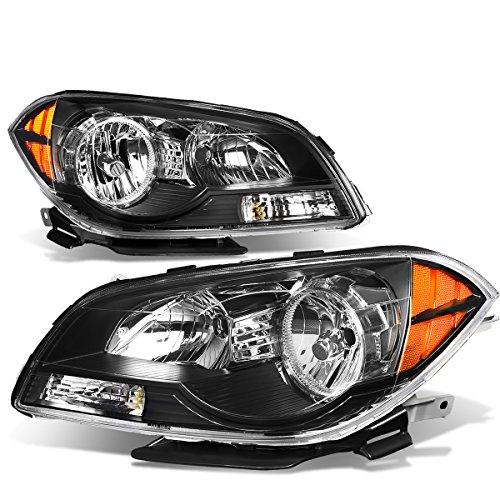 - For Chevy Malibu 7th Gen Sedan Pair of Pair Black Housing Amber Corner Headlight Lamp