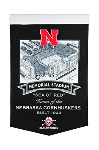Winning Streak NCAA Nebraska Cornhuskers Memorial Stadium Banner ()