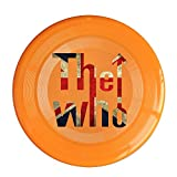 VOLTE THE WHO English Rock Band Flag Orange Flying-discs 150 Grams Outdoor Activities Frisbee Star Concert Dog Pet Toys