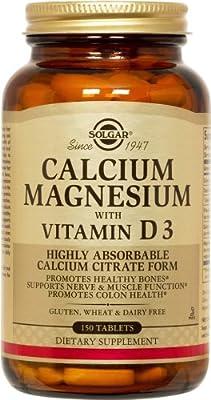 Solgar - Calcium Magnesium with 3