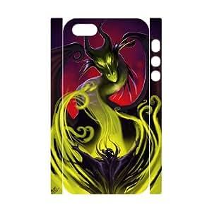 LSQDIY(R) maleficent dragon iPhone 5,5G,5S Custom 3D Case, High-quality iPhone 5,5G,5S 3D Case maleficent dragon