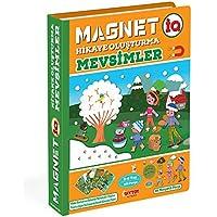 DiyToy Magnet IQ Hiyake Oluştura Mevsimler