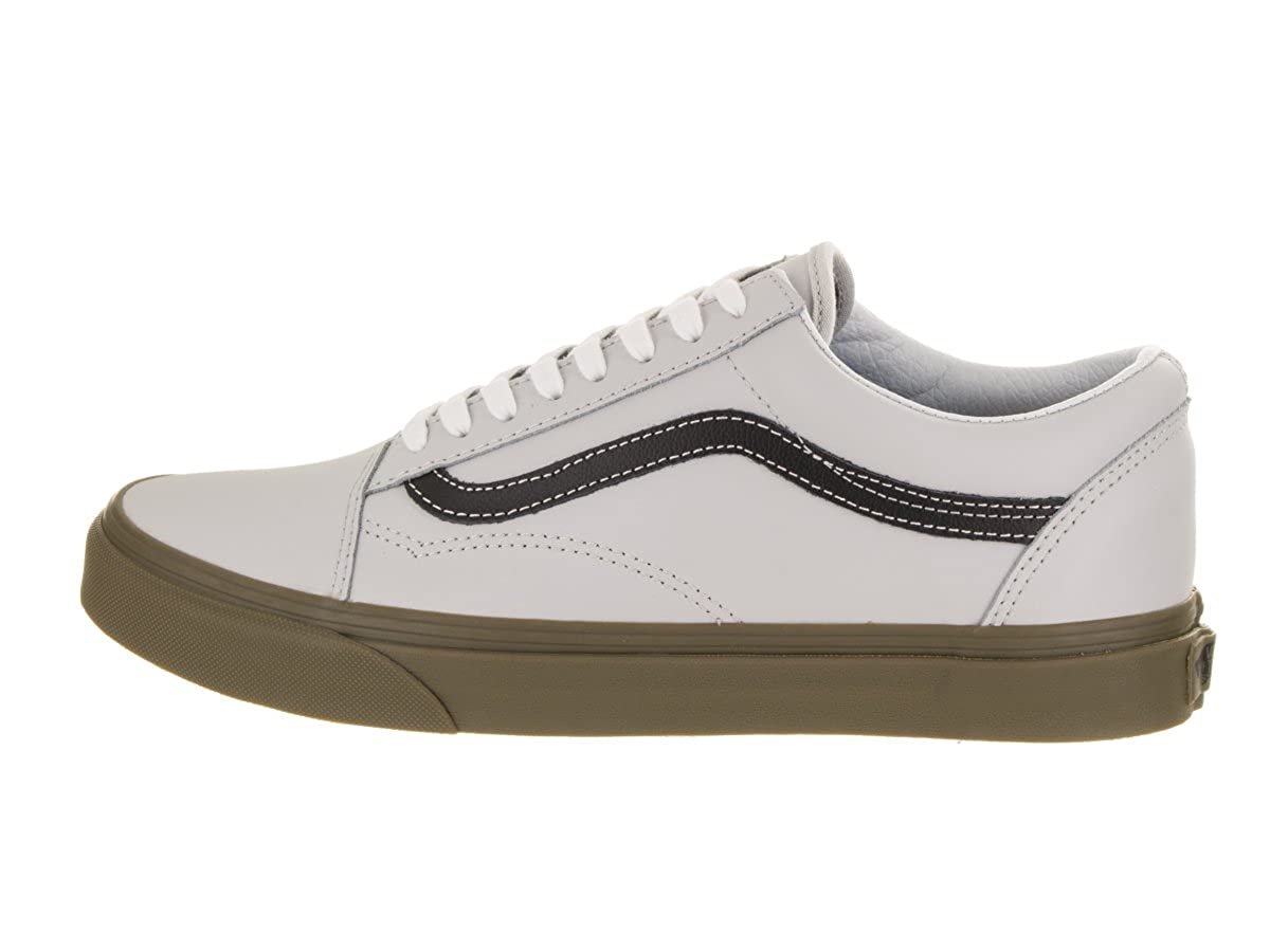 bfc98f556549 Vans Unisex Old Skool (Bleacher) Gray Black Gum Skate Shoe 5.5 Men US   7  Women US  Amazon.co.uk  Shoes   Bags