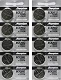Energizer CR2032 3 Volt Lithium Coin Battery 10