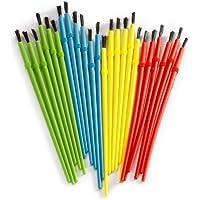 Darice 1181-79 24-Piece Kids Paint Brush Assortment