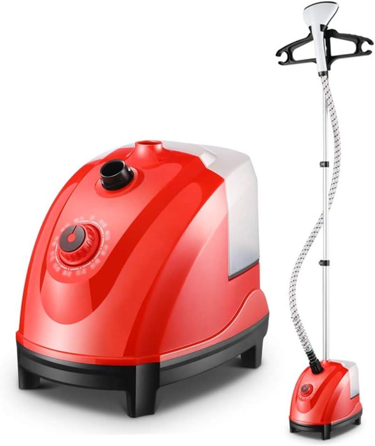 Plancha de vapor|Plancha Vapor Vapor for la ropa Ropa Vapor-1800W de alta potencia que cuelga de ajuste 11 vertical de la temperatura adecuada for todo tipo de tela de silencio ( Color : Red )