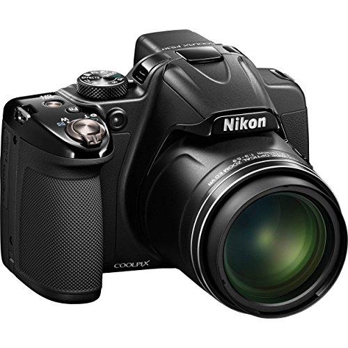 Nikon COOLPIX P530 16.1 MP CMOS Digital Camera with 42x Zoom NIKKOR Lens and Full HD 1080p Video (Black) (Certified Refurbished)