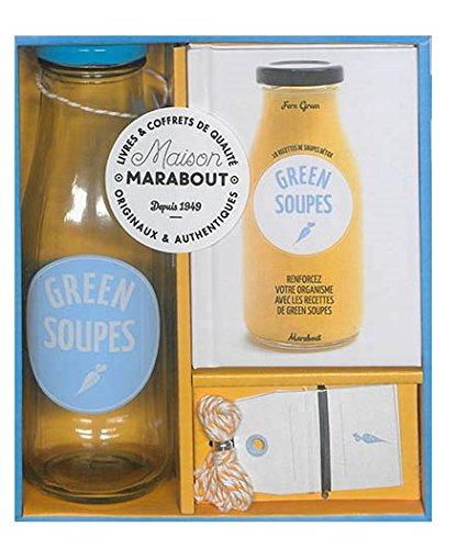 Green soupes Coffret produits – 5 octobre 2016 Collectif Marabout 2501099370 Cuisine