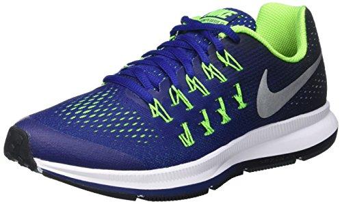 huge selection of a841e f1540 Boy s Nike Zoom Pegasus 33 (GS) Running Shoe Deep Royal Blue Black