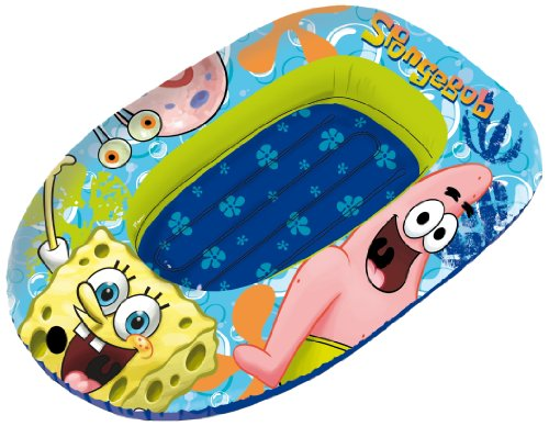 Spongebob Squarepants Inflatable Boat (SAICA Toys ()