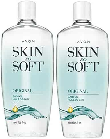 Avon Skin So Soft Original Bath Oil, 25 oz. (Pack of 2)