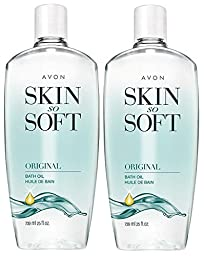 Avon Skin So Soft Original, 24 oz (Pack of 2)