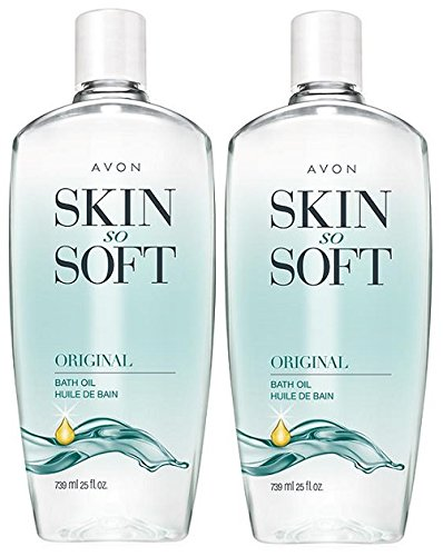 Avon Skin So Soft Original Bath Oil, 25 oz. (Pack of 2)