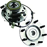 MOTORMAN 515058 Front ABS Wheel Hub and Bearing Set - Both Left and Right - Pair of 2
