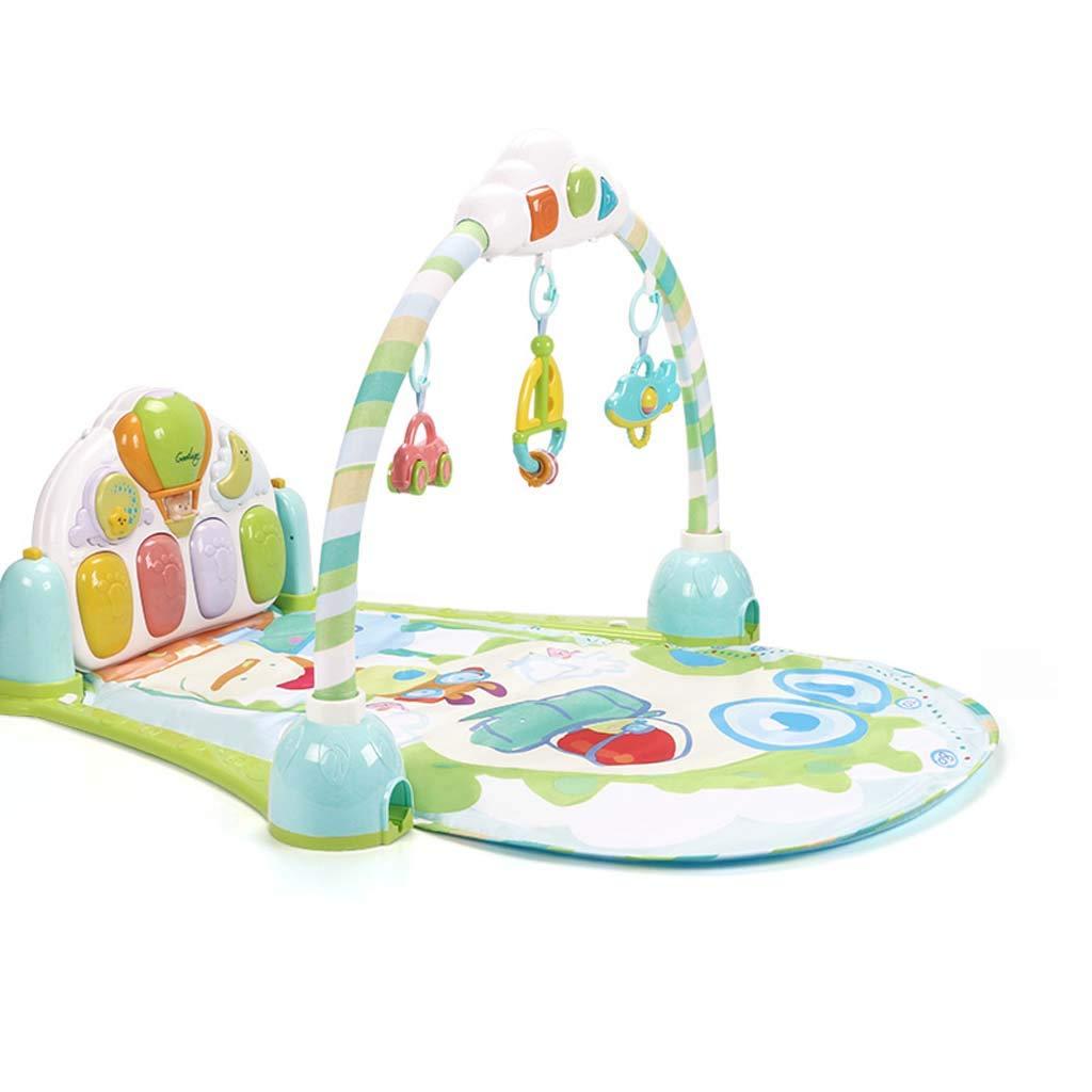 ganancia cero Barato Barato Barato Bebé Actividad Gimnasio-Juego Mat Fitness Aprendizaje Cojín Funanimals, Música, Discovery Carpet para 0-12 Meses Bebé Recién Nacido,Green  aquí tiene la última