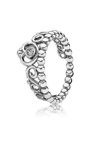 Amazon Com Pandora My Princess Ring Tiara Size 7 Includes Plush