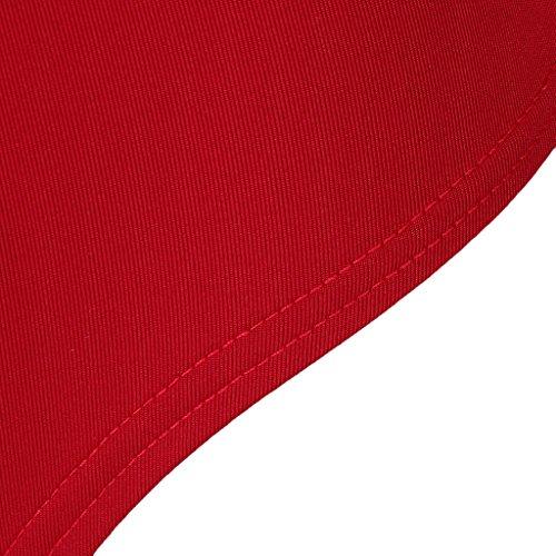 M Doux Longues Col V Femmes Confortable Profond Manches Bordeaux Magideal Romper Vêtements Cadeau Justaucorps 04qxwYO