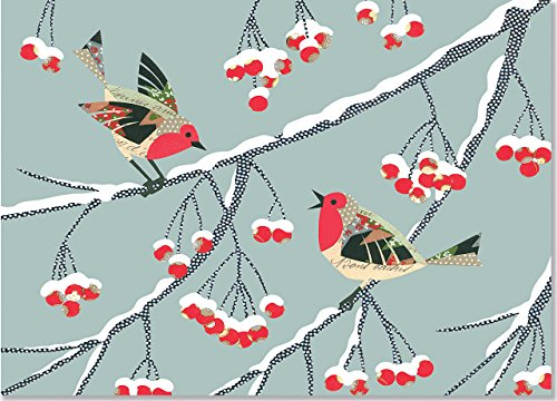 Winter Songbirds Deluxe Boxed Holiday Cards (Christmas Cards, Holiday Cards, Greeting - Christmas Non Christmas Songs