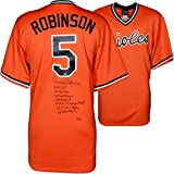 Brooks Robinson Baltimore Orioles Autographed Orange Throwback Jersey with Multiple Inscriptions - #2-23 of a Limited Edition of 24 - Fanatics Authentic Certified