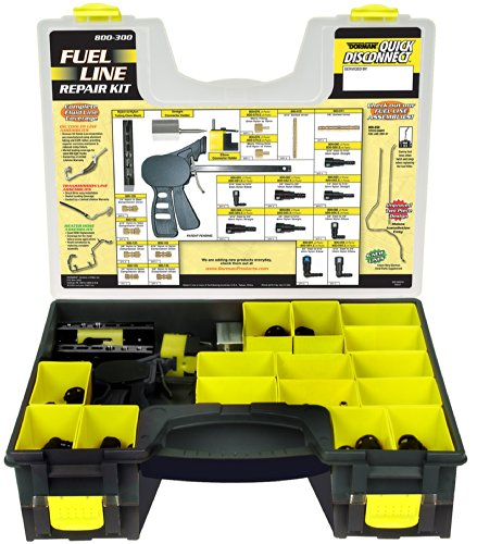 Dorman 800-300 Nylon Fuel Line Repair Kit, 104 Piece