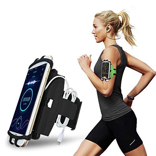 CoverKingz Universele sportarmband 4,0-7,0 inch – telefoonhoes met sleutelvak voor [iPhone/Google/Huawei/Galaxy/Nokia…