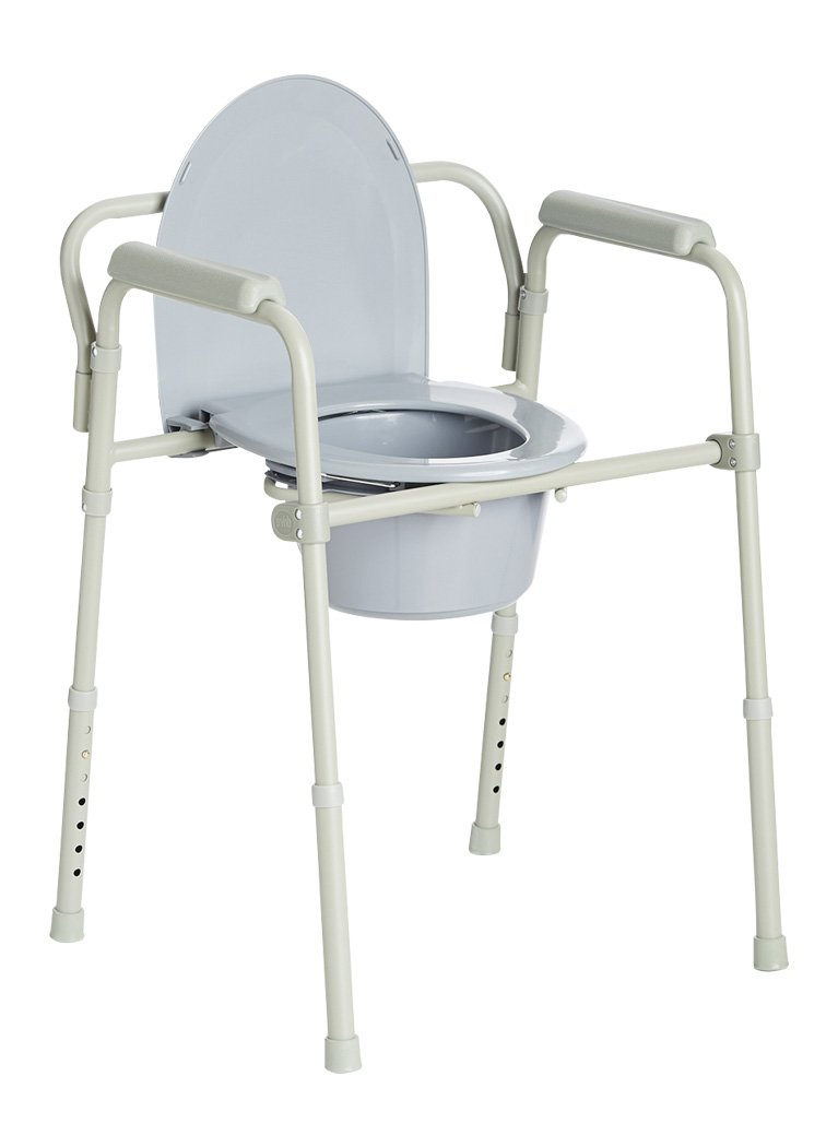 Deluxe Folding Commode