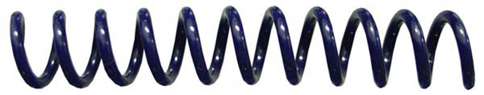 7mm (9/32) Navy Coil Bindings (Qty 100) Color: Navy, Model: , Office Shop