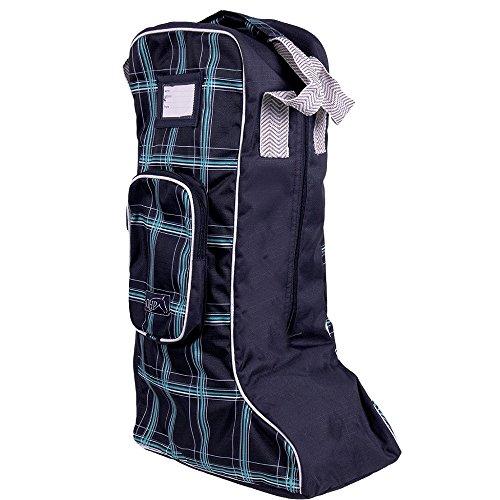 netproshop Stiefeltasche, Tasche für Reitstiefel Lederstiefel in modernen Designs Eck