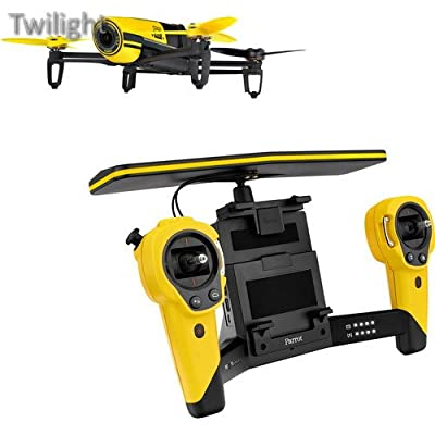 Parrot BeBop Drone Quadcopter with Skycontroller Bundle (Yellow) by Twilight