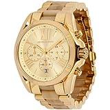 Michael Kors MK5722 - Reloj para mujer con correa de acero/ceramica, color dorado / gris