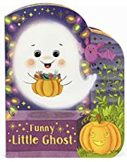 Funny Little Ghost - Halloween Ghost-Shaped Board Book