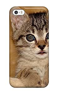 Hot Fashion ZAgdtNm917NYknN Design Case Cover For Iphone 5/5s Protective Case (my Window Cat Felines Animal Cat)