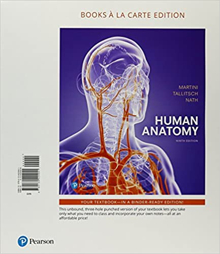 Human Anatomy Books A La Carte Plus Mastering AP With Pearson EText
