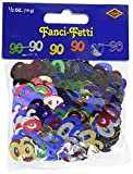 Fanci-Fetti 90 Silhouettes (multi-color) Party Accessory (.5 Oz/Pkg) (Value 3-Pack)