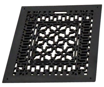 6 X 10 CAST IRON VENT COVER (AIR RETURN) WITH SCREW HOLES (Vent Cover Screws compare prices)