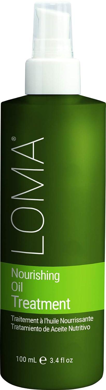 Loma Hair Care Nourishing Oil Treatment, Vanilla Bean/Orange, 3.4 Fl Oz