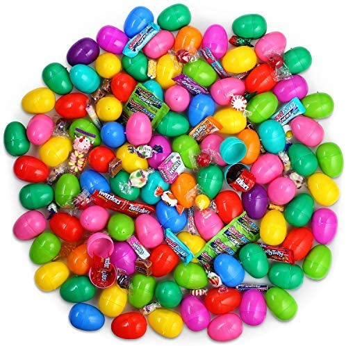 Deals on Plastic Filled Easter Eggs Candy Easter Basket Stuffers