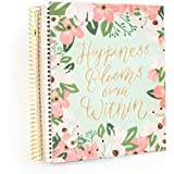Creative Year Mint Floral Medium Planner By Recollections