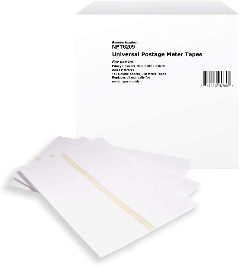 NuPost Brand Replacement Postage Meter Sheet Tape Universal for 612-0, 620-9, 612-7