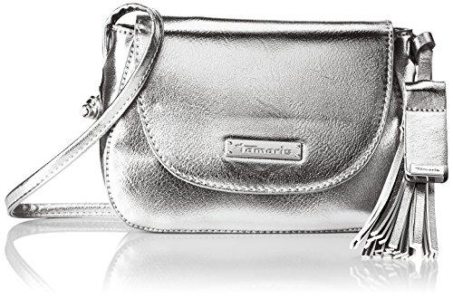 Plateado Mujer Bolsos Tamaris silver Crossbody Bandolera Bag Nadya qwx1vF4