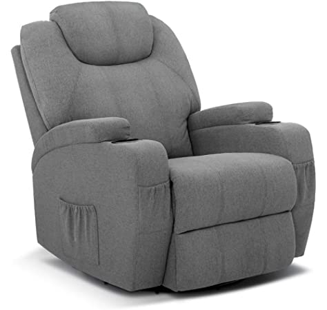 Recliner Chair, Artiss Electric Lounge 8 Point Heated