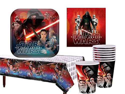Star Wars The Force Awakens Party Supply Pack for 16 (AMZ) ()